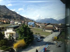 Suisse saxon paysage